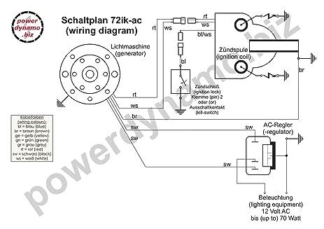 Amazon.com: Powerdynamo Ignition System Bultaco 51oz 18 x 1.5 ...