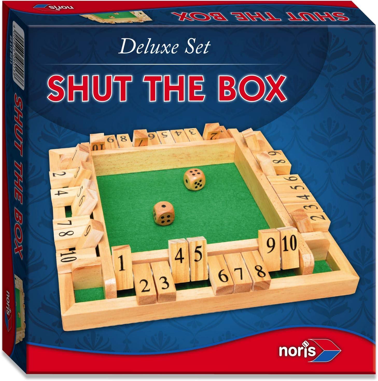 Noris Spiele 606108013 - Deluxe Cierra la Caja, Juego de Sociedad ...