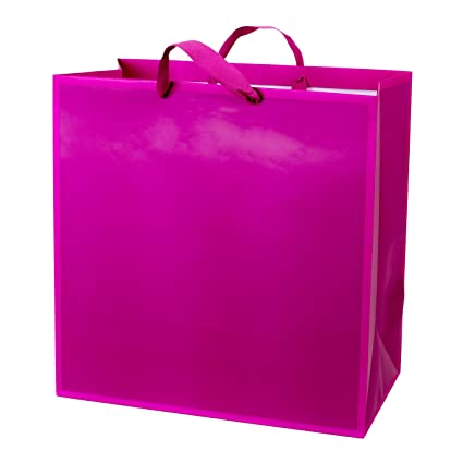 Amazon Hallmark Extra Large Hot Pink Gift Bag Birthday Mothers Day Baby Shower Kitchen Dining