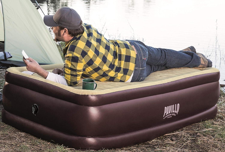 Bestway Pavillo Corn Trims 191X97X43 Air Bed Twin Size 191X97X43/cm brown//beige