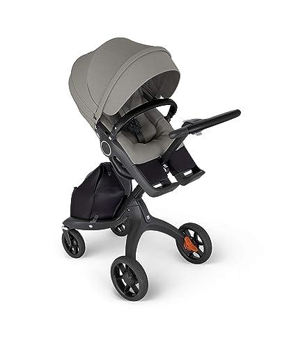 Stokke Xplory 6 Stroller Multifunktions Kinderwagen Mit Schützenden Ergonomischen Sitz Farbe Brshed Grey Baby