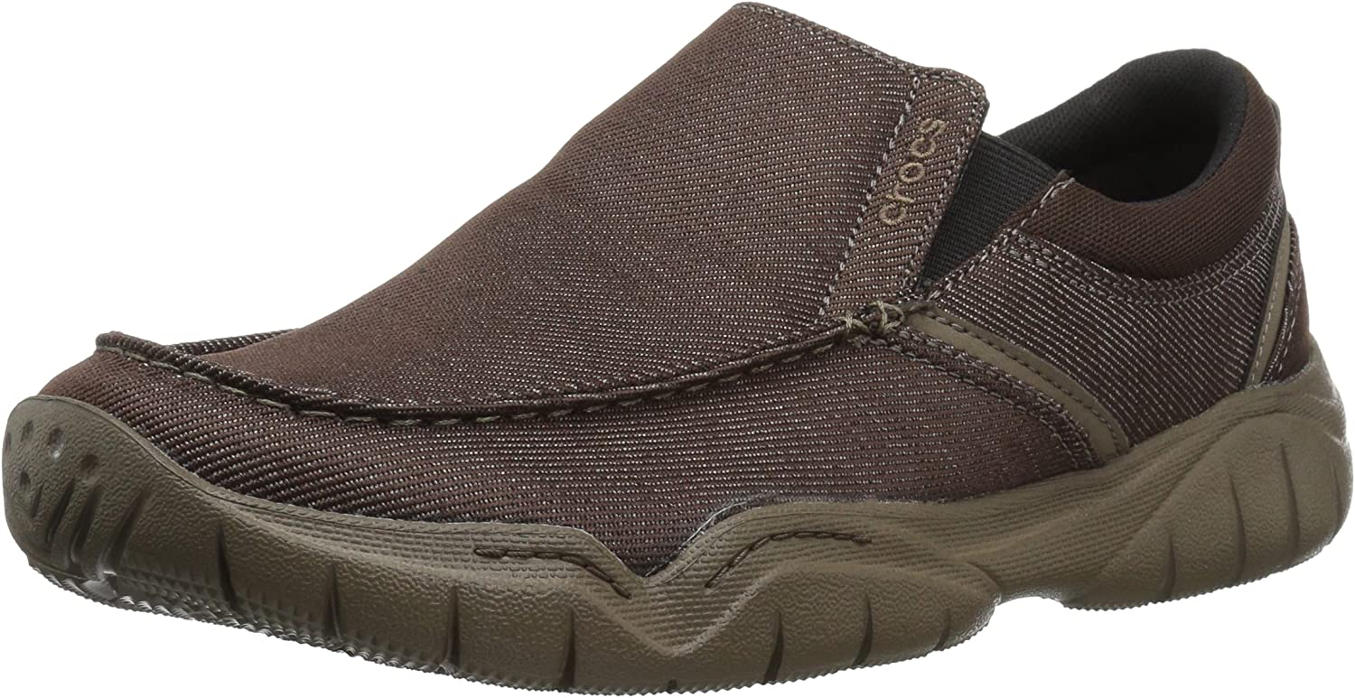 Crocs Mens Swiftwater Casual Slip-On Loafer