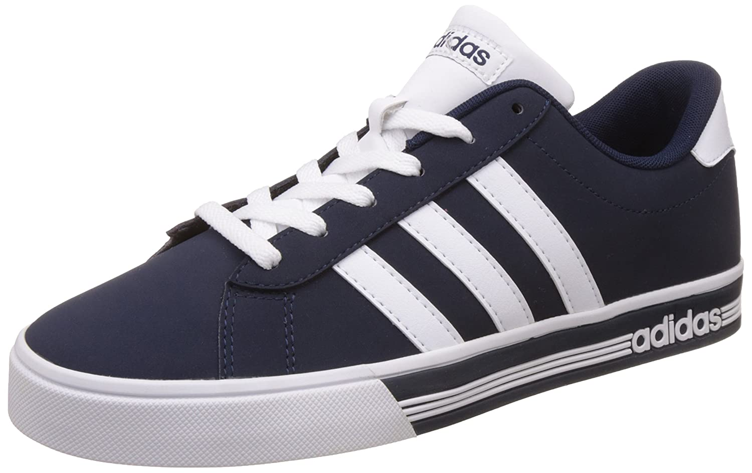 Buy Adidas neo Men's Daily Team Ftwwht and Conavy Sneakers - 6 UK ...