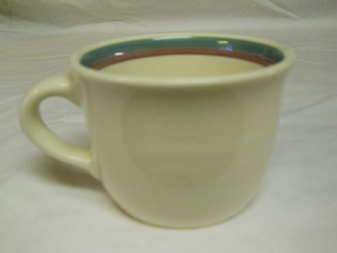 M4 Pfaltzgraff Remembrance Flat Cup Coffee Tea USA