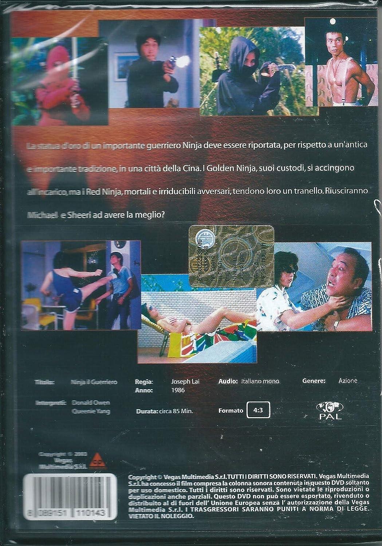 Amazon.com: ninja il guerriero dvd Italian Import: donald ...