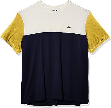 Lacoste Men/'s Colorblock Crewneck T-Shirt