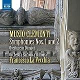 Clementi: Symphonies Nos. 1 & 2 (Overture In D) (Francesco La Vecchia, Orchestra Sinfonica di Roma) (Naxos: 8573071)