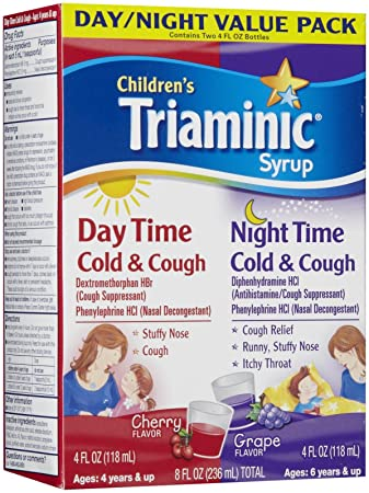 Amazoncom Triaminic Daytimenighttime Cold Cough Combo Pack
