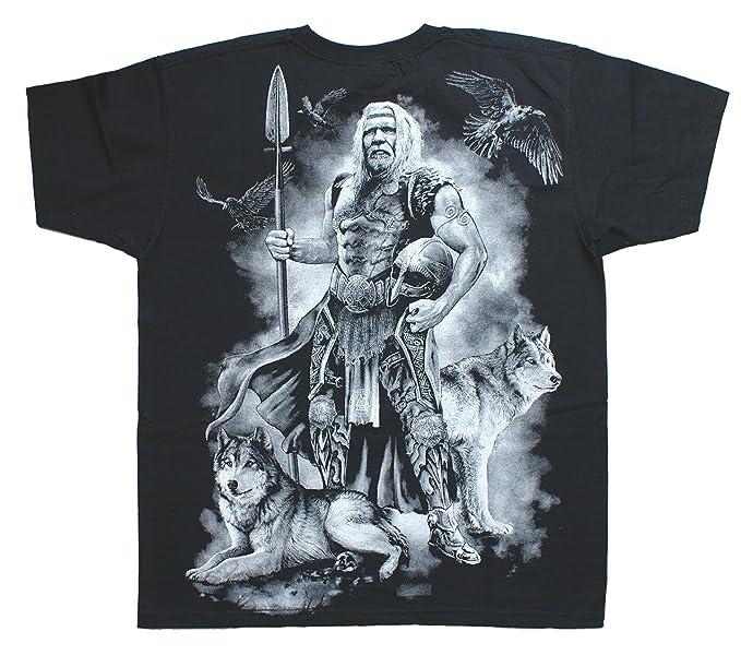 f2739ded5c21b3 Odin Viking Warrior T-Shirt Wrap  Amazon.co.uk  Clothing