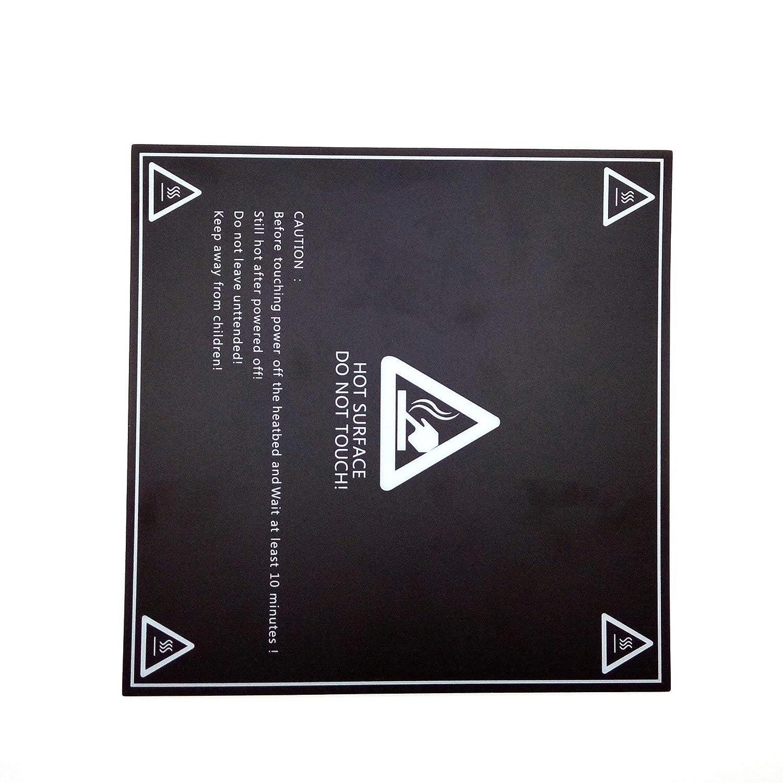 f/ür 3D Drucker Heizbett MK3 Druckbett AptoFun 3D Druckbett Folie 213 x 213 mm 3D Heizbett Folie Druckplattform