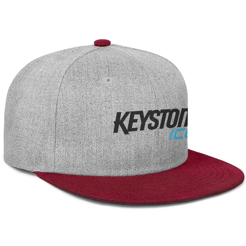 Coors Keystone Ice Mens Womens Wool Trucker Cap Adjustable Snapback Outdoor Hat