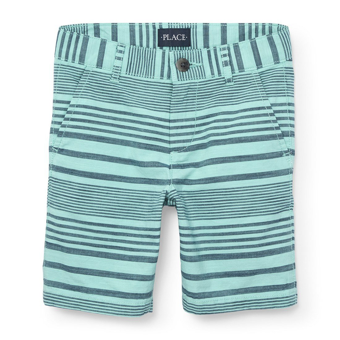The Children's Place Big Boys' Print Short, Mellow Aqua 4750, 6