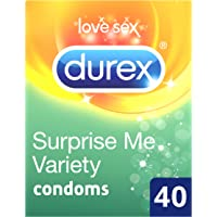 Durex Surprise Me Variety Condoms - Pack of 40​