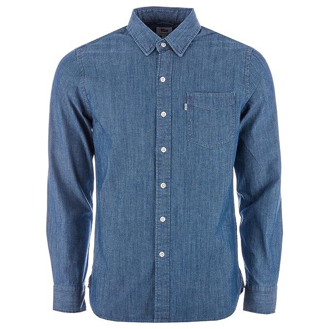 Levis - Camisa Casual - para Hombre Azul XS