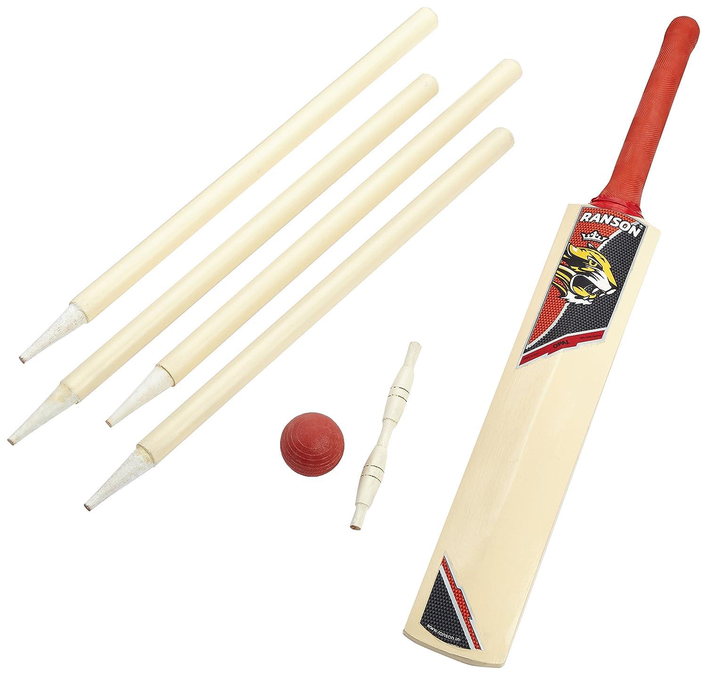 Ranson Promo Cricket Set - Juego de críquet, Color Blanco, Talla Value Not Found