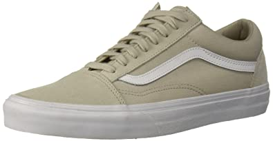 3962a5a9b9 Vans Women s Old Skool (suiting) Skate Shoe (Suiting) Silver Lining True