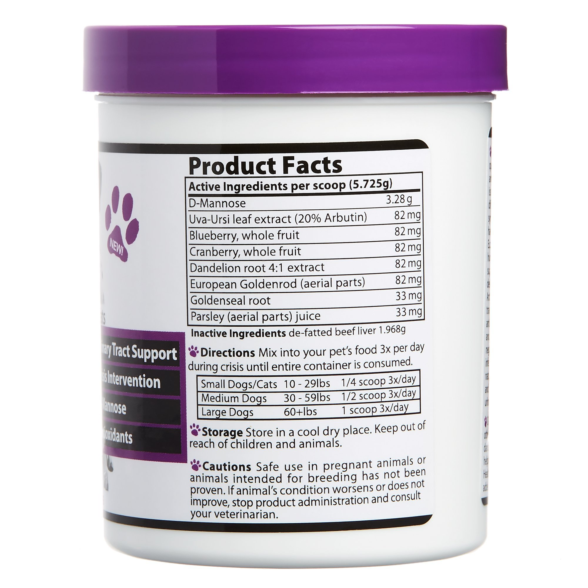 Vibrant Companions - U.T. Health, A Natural Solution for Urinary Tract Issues In Dogs & Cats, 2.02 oz by Vibrant Health