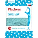 Plackers Twin-Line 75 Count Dental Floss Picks