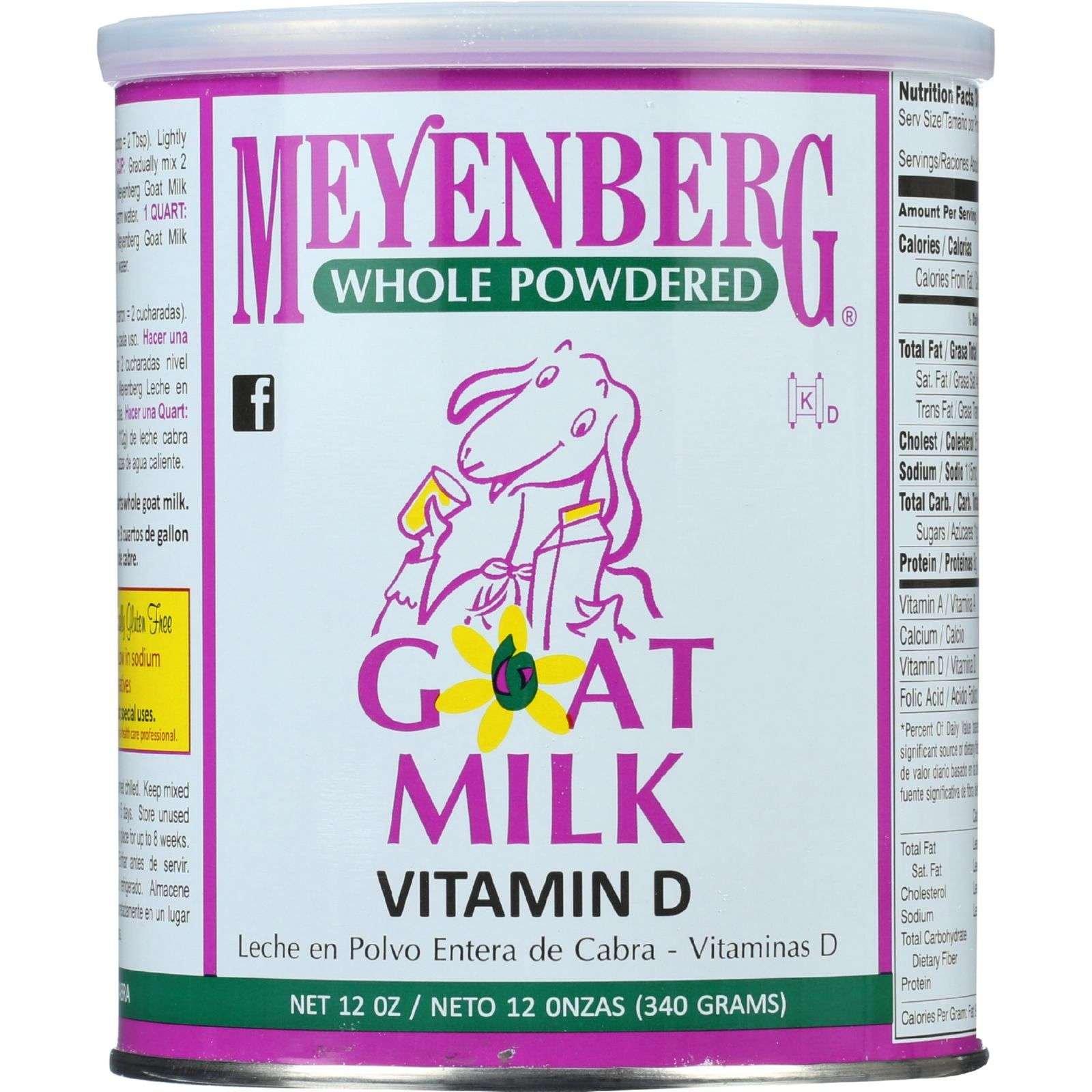 Meyenberg Goat Milk - Powdered, 12-Ounce