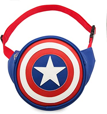 Marvel Capitán América Hip Pack Multi: Amazon.es: Zapatos y ...