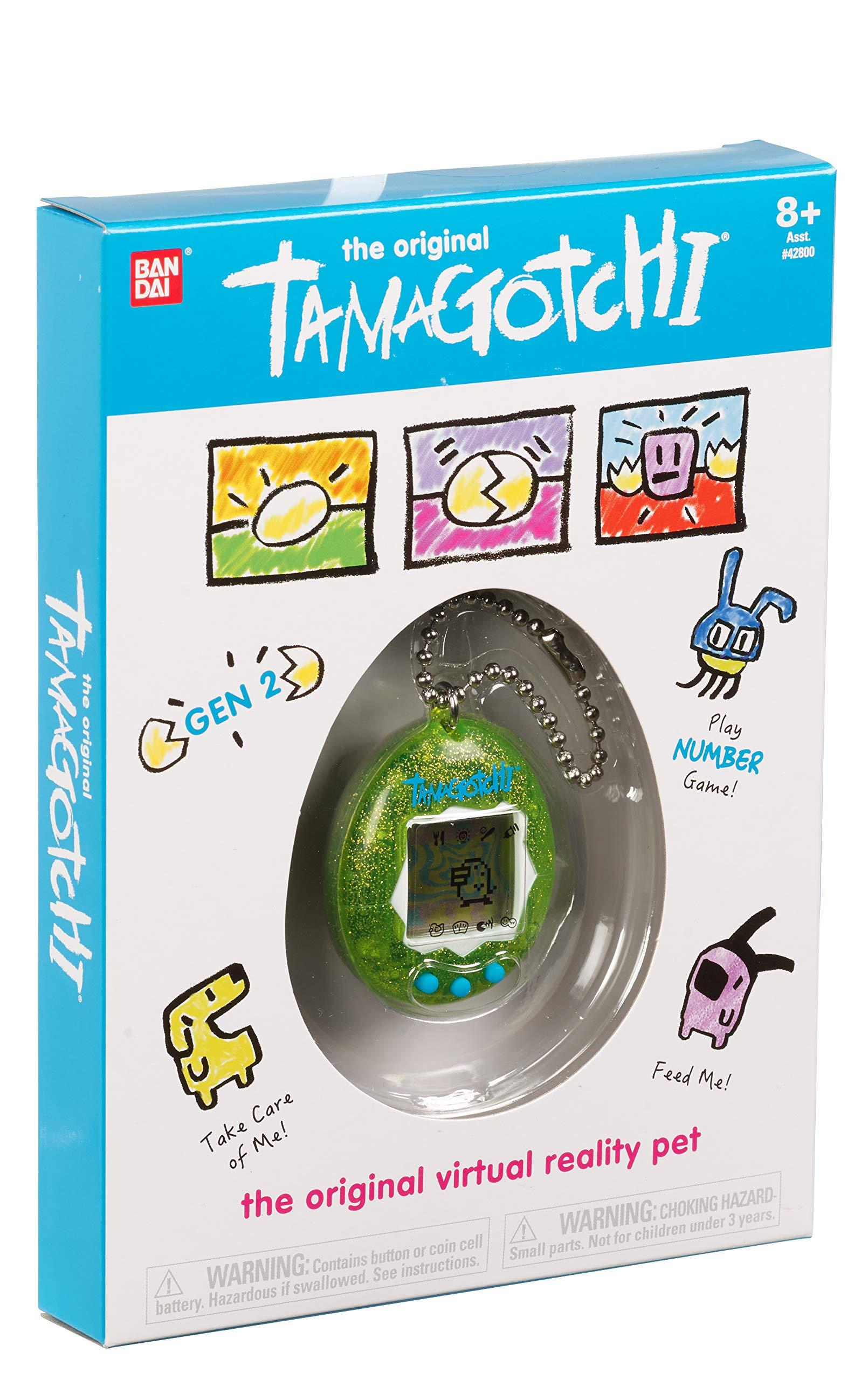 Tamagotchi Electronic Game, Green Glitter by Tamagotchi (Image #3)