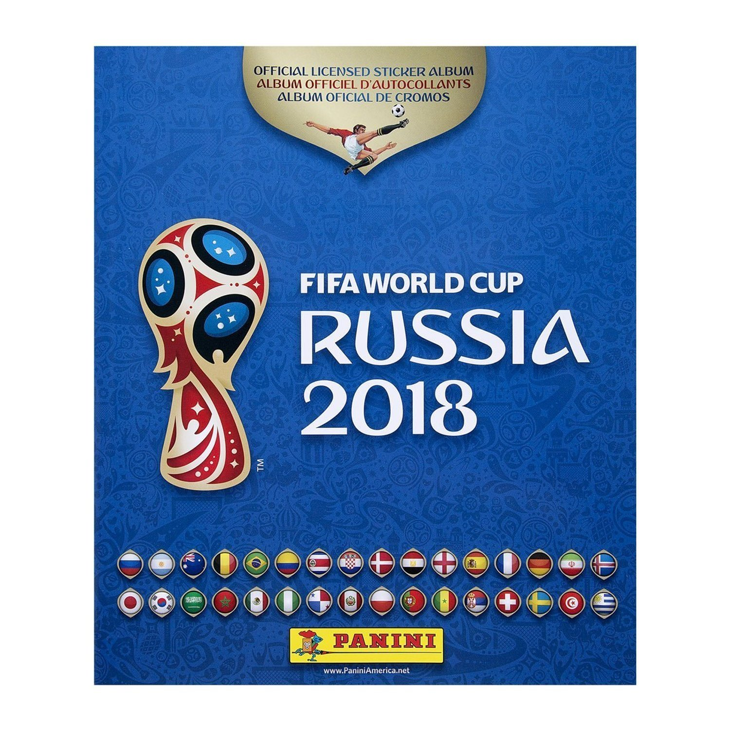 Panini 2018 FIFA World Cup Russia | 100% Completed Hard Cover Album with All the Stickers (Already Labeled)