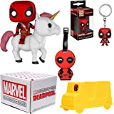 Funko Marvel Collector Corps Subscription Box - Deadpool Theme, July, Multicolor