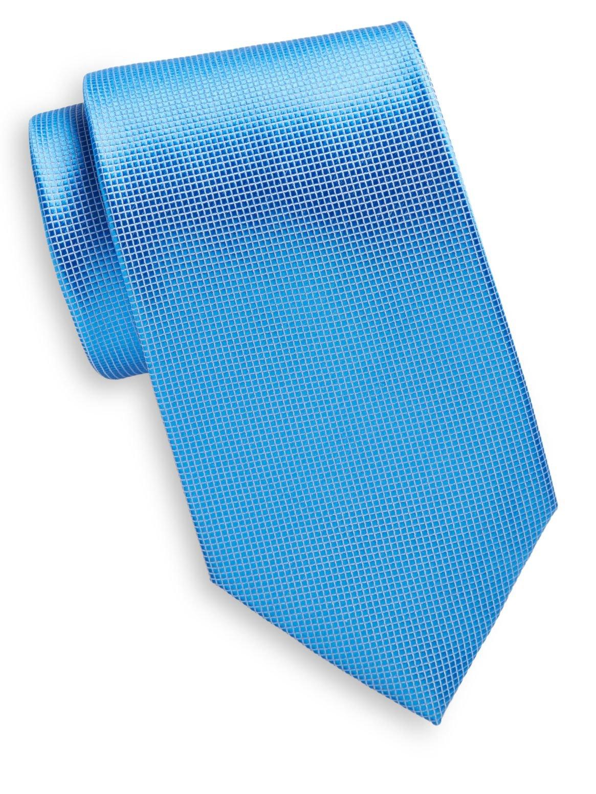 Yves Saint Laurent Men's Textured Silk Tie