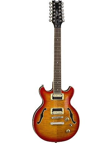 Dean BOCA 12 String Semi Hollow Body Electric Guitar Trans Cherry Sun Burst
