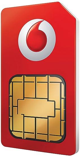 Nano Sim Karte Vodafone.Vodafone Pay As You Go Nano Voice Sim