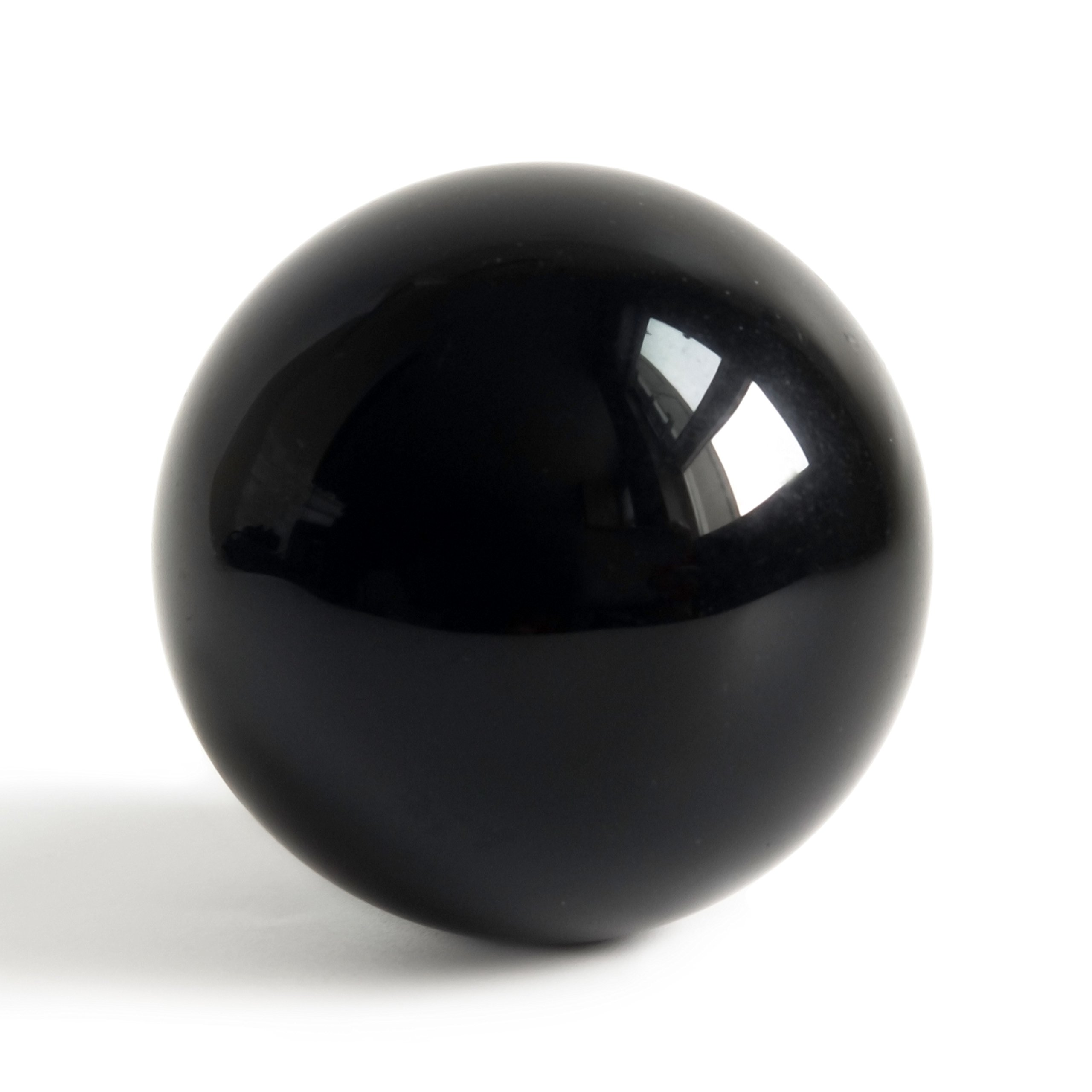 Mina Heal Obsidian Crystal Ball 160 mm/6.3'' for Fengshui Ball, Scrying, Meditation, Crystal Healing, Divination Sphere, Home Decoration, 100% Natural and Genuine by Mina Heal (Image #3)