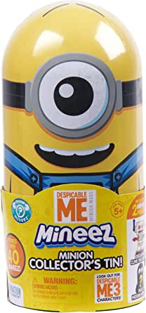 Details about  /Despicable Me Minions Holiday Sweets Candy in Embossed Metal Tin NEW SEALED