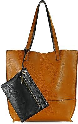 Scarleton Reversible Tote bag for Women, Shoulder Bag for Women, Purses for Women, Handbag for Women, Hobo bag, H2018