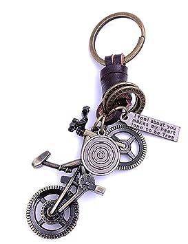 Onlineworld2013 Bicicleta BMX Trial Llavero Llavero Metal ...