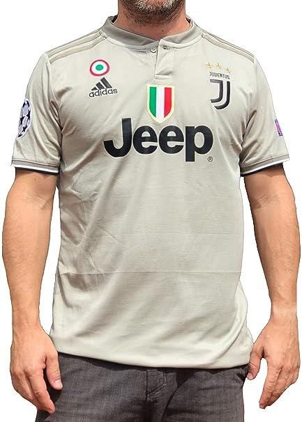 53692ce0763 Amazon.com : Juventus Ronaldo No.#7 Soccer Jersey 2018 2019 Serie A Calcio  d'Italia - New Black and White Home Soccer Jersey 2019 (Light Brown, ...