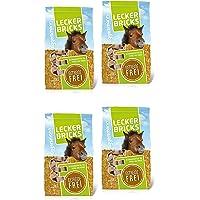 Eggersmann Lecker Bricks Getreidefrei – Pferdeleckerlis ohne Getreide – Getreidefreie Leckerlis für Pferde – 1 kg & 4 kg