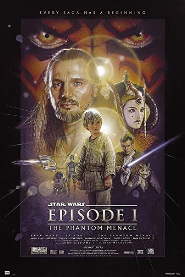 Amazon.de: Star Wars Poster Episode 1 The Phantom Menace (61cm x 91 ...