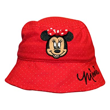 Image Unavailable. Image not available for. Colour  Kids Girls Disney Minnie  Mouse Bucket Hat ... 1345853b77d