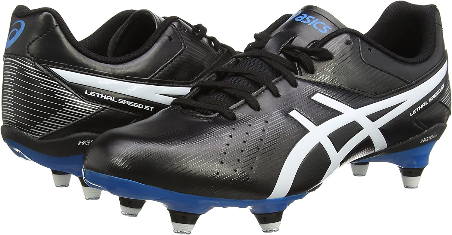 vaso humor Plano  Amazon.com | ASICS Lethal Speed ST Rugby Boots - AW16 | Rugby