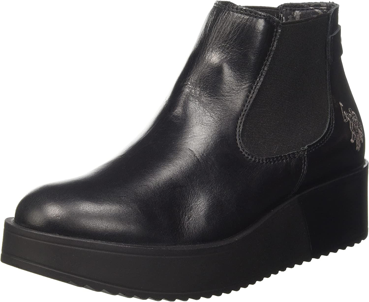 U.S.POLO ASSN. Sapphire Leather, Botas Chelsea para Mujer