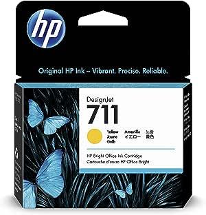 HP CZ132A 711 Cartucho de Tinta Original, 1 unidad, amarillo ...