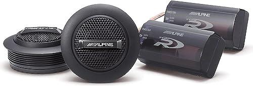 Alpine SPR-10TW 1-inch Silk Ring Dome Car Audio Component