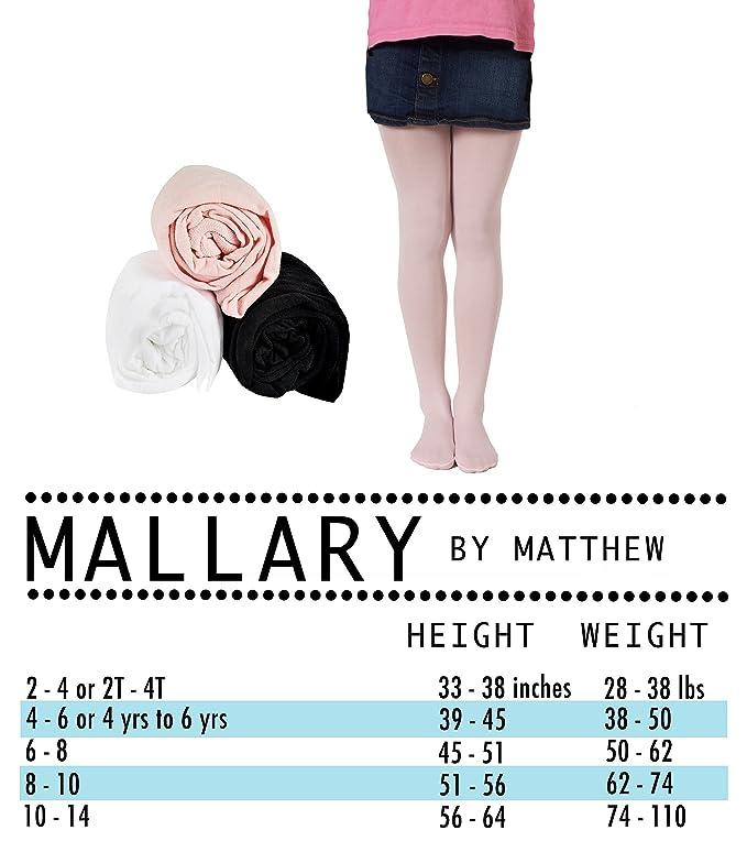 6b632b55e22 Amazon.com  Mallary Girls Microfiber Tights 3-Pack Multiple Colors  Clothing