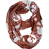Purchadise NCAA Silky Infinity Scarf with Spatter Design