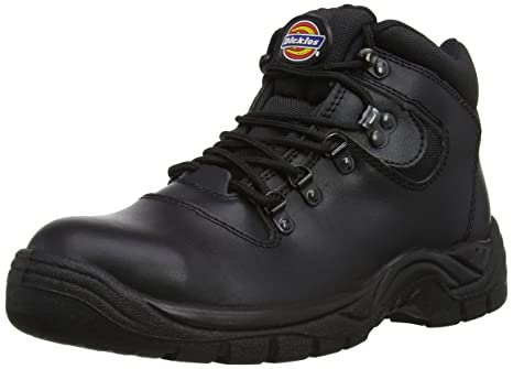 Dickies Men s Fury S1-P Safety Boots FA23380A Black 4 UK 97c9cd55e24