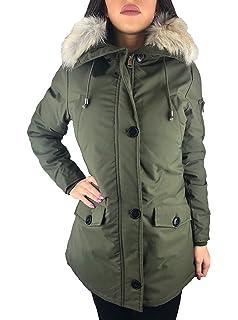 dff95e99af39 Worldclassca Damen Parka Winter Jacke Camouflage KUNSTFELL XXL ...