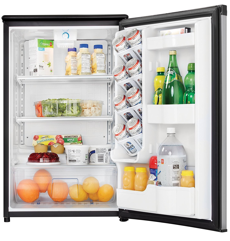 Danby DAR044A5BSLDD Compact Refrigerator, Spotless Steel Door, 4.4 Cubic Feet by Danby (Image #7)