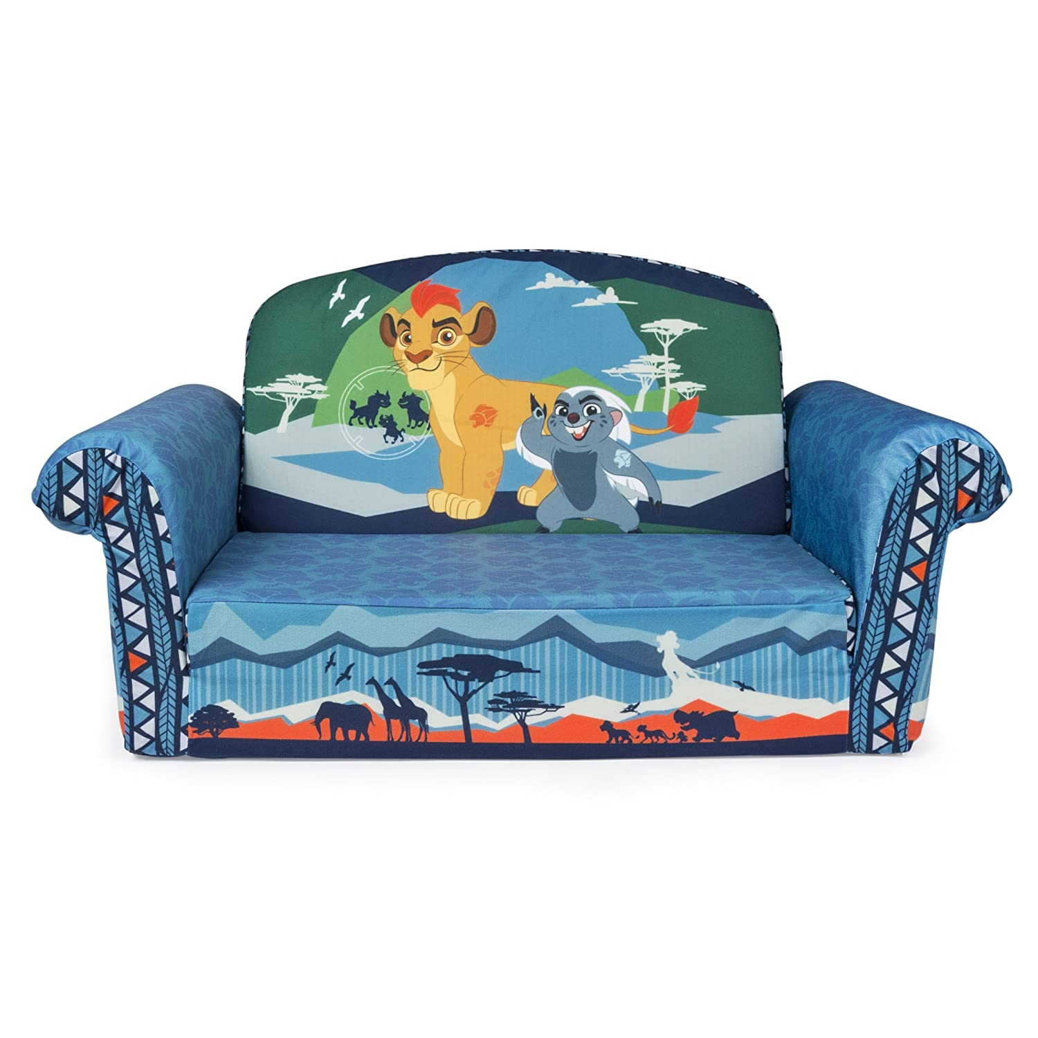 Nice Amazon.com: Marshmallow Furniture, Childrenu0027s 2 In 1 Flip Open Foam Sofa,  Disney Junior The Lion Guard, By Spin Master: Toys U0026 Games