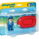 Playmobil - 6795 - Jeu De Construction - Vacancier Avec Bateau