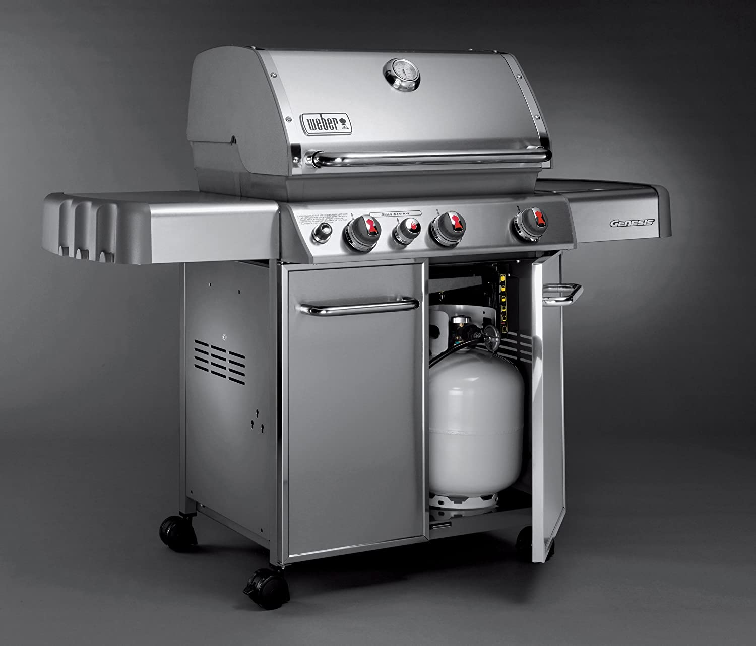 Weber genesis s 330 natural gas - Amazon Com Weber Genesis 6570001 S 330 Stainless Steel 637 Square Inch 38 000 Btu Liquid Propane Gas Grill Patio Lawn Garden